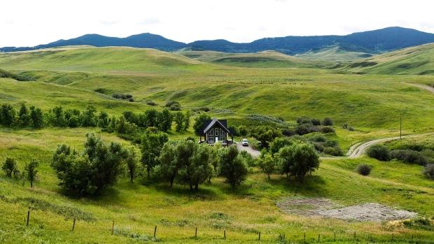 Porcupine Hills grassland