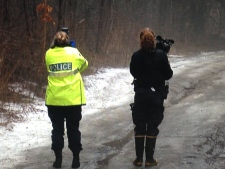 Human remains in Simcoe County forest
