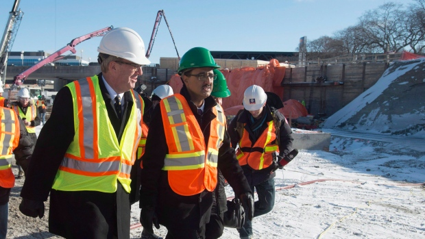 Infrastructure Minister Amarjeet Sohi
