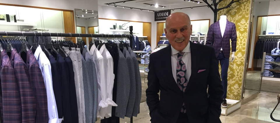 When suit salesman Steve Pawlak began working in the clothing business in 1956, he was 16-years-old and he had no formal training.