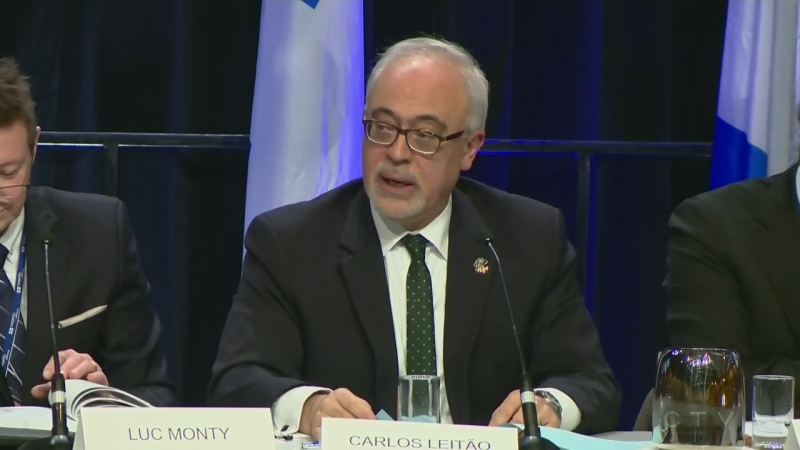 Official Opposition Critic for the Economy Carlos Leitao, as seen in this file photo, says Quebec will likely fall into recession by the end of 2020.