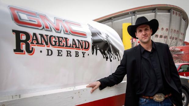 Chuckwagon driver Kurt Bensmiller