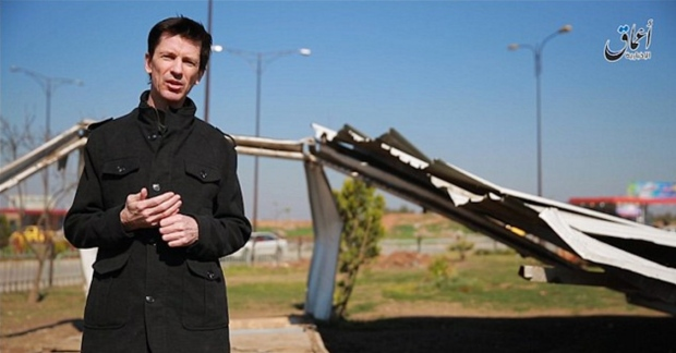 John Cantlie in Islamic State video