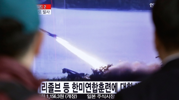 Missile launch conducted by North Korea