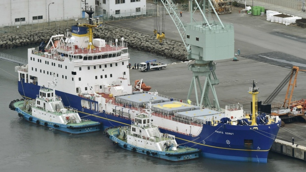 British ships transport plutonium