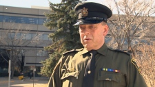 Alberta Fish and Wildlife Officer Dennis Prodan.