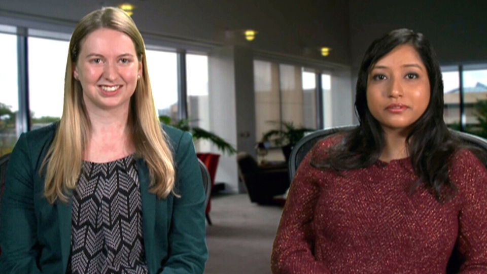 Researchers Jessica Kruger and Monita Karmakar speak to CTV's Canada AM.