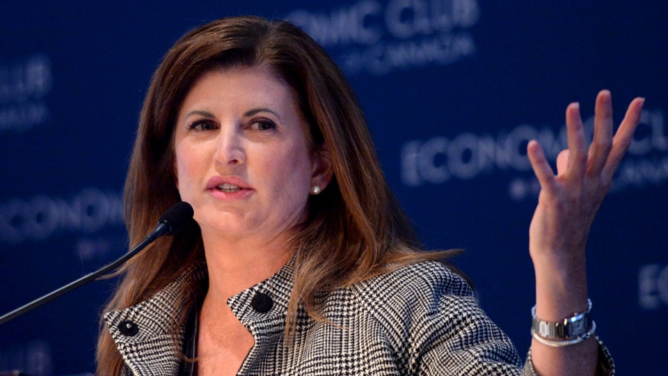 Interim Conservative party leader Rona Ambrose