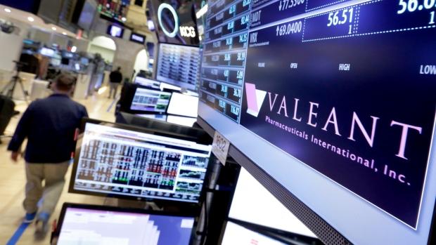 Valeant Pharmaceuticals shares slump as Pershing exits