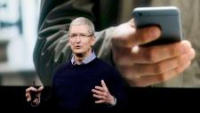 Apple CEO Tim Cook Apple Event