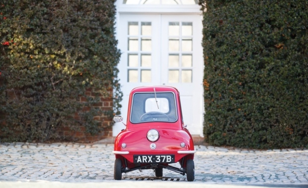 World's smallest car auctioned in Florida