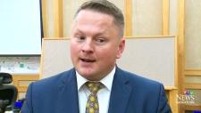 Saskatoon city councillor Darren Hill