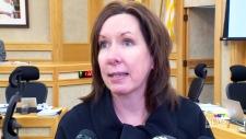 Saskatoon city councillor Ann Iwanchuk