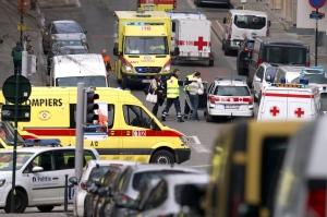 Explosions in Belgium