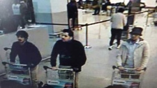 Brussels bombing suspects