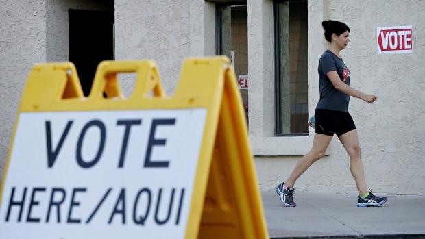 Voters at Arizona primary