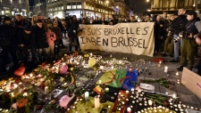 Vigil held for Brussels bombing victims