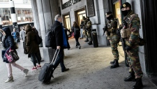 Increased security a day after Brussels attacks