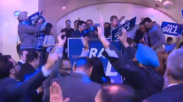 Prab Gill of the Alberta PCs, pulled out a victory in the Calgary-Greenway byelection, retaining the seat for the party which was decimated in the last General Election.