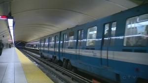 Montreal metro subway