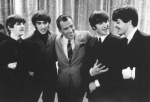 The Beatles during a taping of The Ed Sullivan Show in 1964. (AFP)