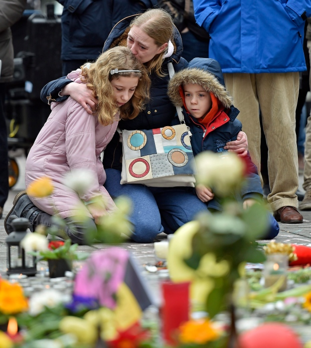 Mourning in Brussels