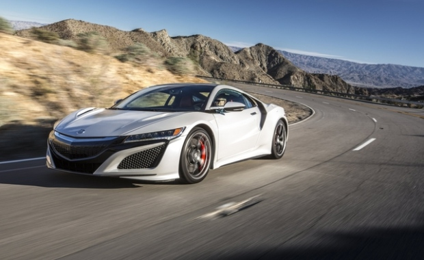 The 2017 Acura NSX is a sports car legend reborn