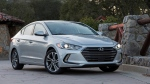 The 2017 Hyundai Elantra sedan. (Hyundai Motor America via AP)