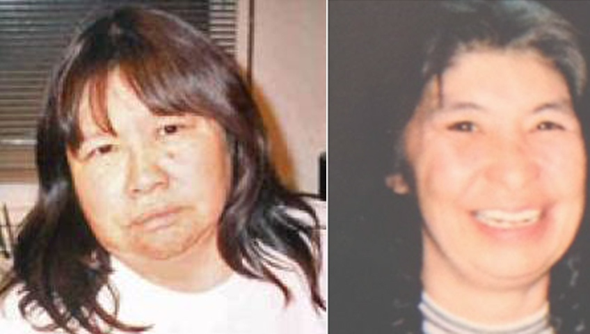 Jeannette Chief, left, and Violet Heathen are seen in this combined photo. (RCMP supplied)