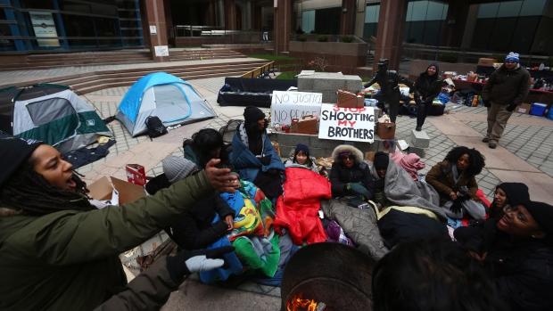 Black Lives Matter - Andrew Loku protest Toronto