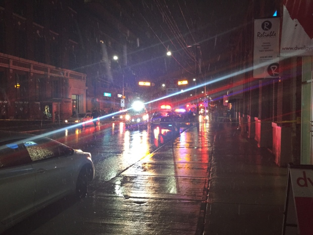 Leslieville shooting