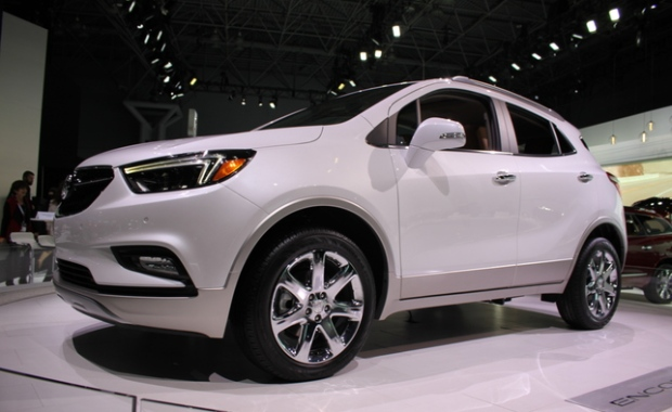 Buick gives 2017 Encore SUV a facelift