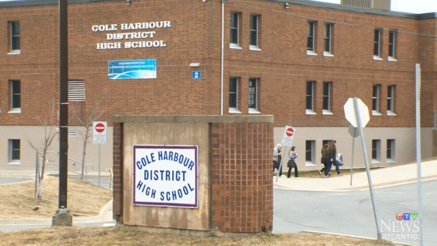 Cole Harbour District High School is seen in this undated file photo.