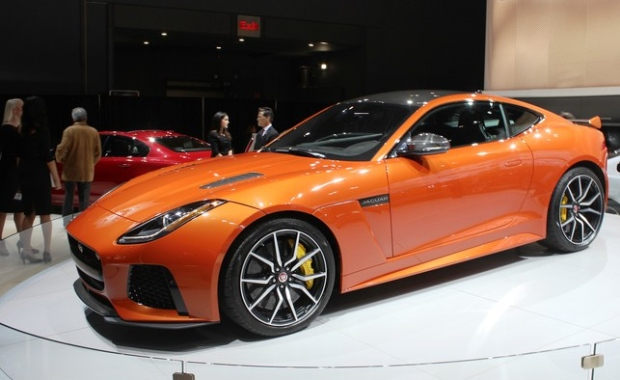 2017 Jaguar F-Type gets louder and faster with SVR