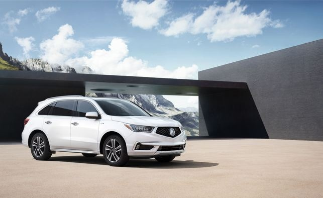 Acura Shows New Face On 2017 Mdx  Flexes Muscles With Nsx