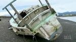 Derelict boats plaguing Comox Valley beach