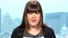 NDP President Rebecca Blaikie