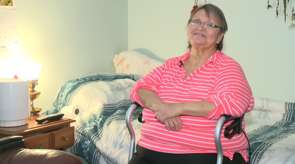 Harriet Erickson says she's learned to control her drinking with help from staff at Ambrose Place.