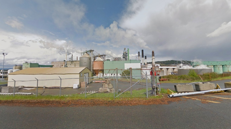 Harmac mill in Nanaimo is shown in this undated Google Maps image.