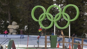 Quebec City's mayor says he has had discussions with his counterparts in Calgary, Vancouver and Lake Placid about sharing events at the 2026 Winter Olympics. March 25, 2016. (CTV News).