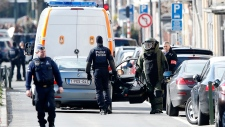 Police carry out takedown in Belgium