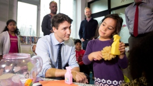 The Liberals pledged to spend $7 billion over a decade on child care, starting with $500 million in the new fiscal year that starts in April, increasing to $870 million annually by 2026. (File Image)