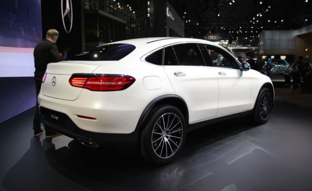 Mercedes-Benz unveils new GLC Coupe