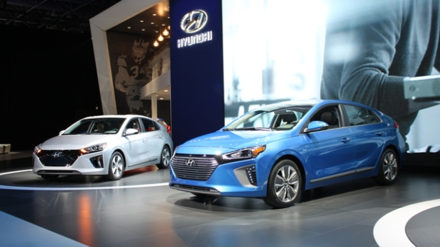 new hyundai ioniq available in hybrid plug in and full electric versions ctv news autos. Black Bedroom Furniture Sets. Home Design Ideas