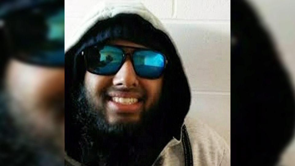 The RCMP integrated national security enforcement team has arrested 23-year-old Kevin Omar Mohamed fearing he was about to commit terrorism. (CTV Kitchener)