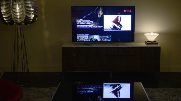 Netflix is currently the largest SVOD service. (AFP PHOTO / STEPHANE DE SAKUTIN)