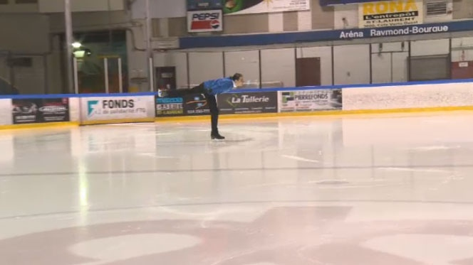 Figure skater Emile Baz, who took home a gold in the men's event at the Canadian Special Olympics in Newfoundland, is hoping to compete internationally in Austria next year.