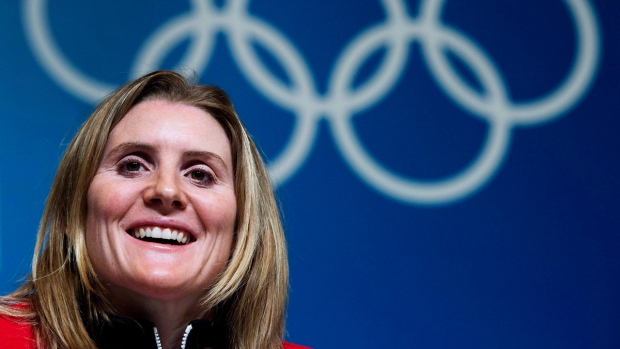 Hayley Wickenheiser ahead of the Sochi Olympics
