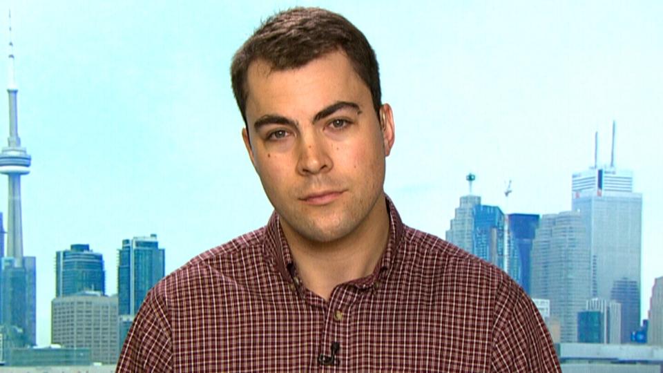 Toronto Star reporter Chris Reynolds appears on CTV News, Monday, March 28, 2016.