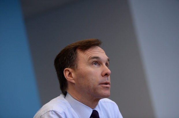 Finance Minister Bill Morneau